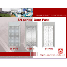 Elevator Door Panel with Maple Leaf Pattern (SN-DP-313)